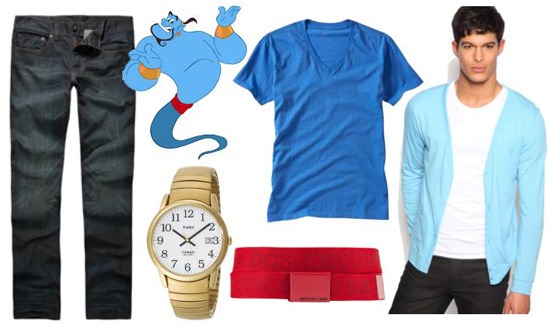 Genie inspired outfit for guys
