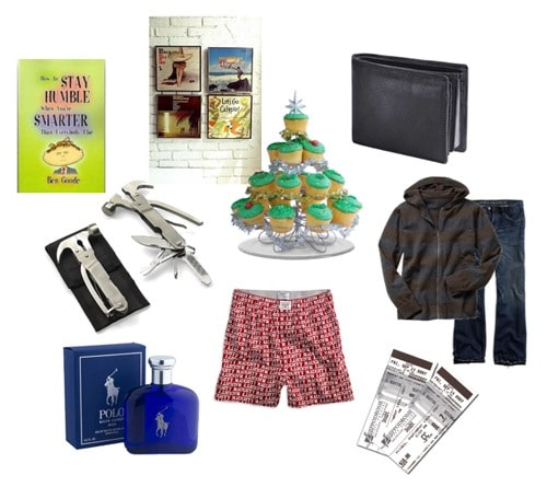 Holiday gift ideas for your boyfriend