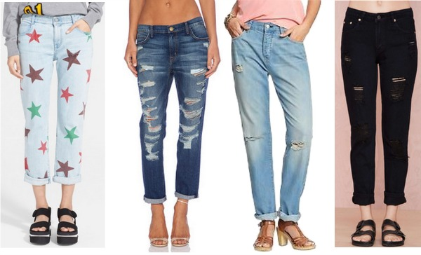 4 amazing pairs of boyfriend jeans