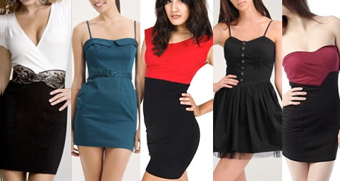 Dresses for girls with boyish figures