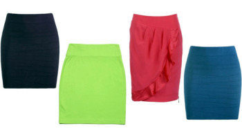 colorful professional skirts