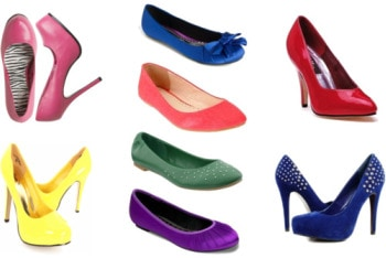 colorful shoes