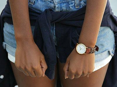 Braided wristwatch at CSU Dominguez Hills