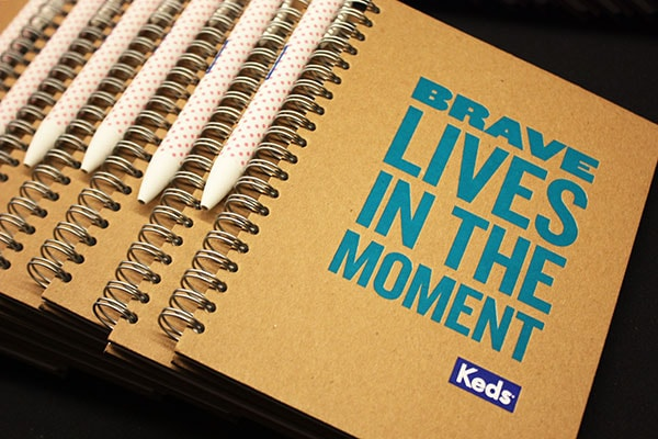 Brave notebooks keds