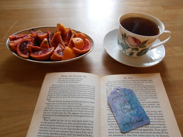 breakfast and book