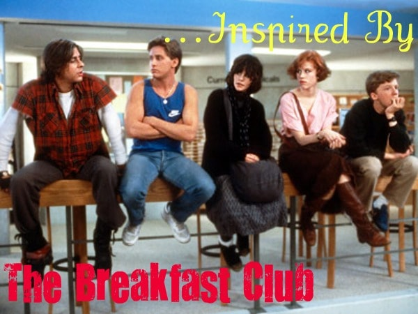 Fashion inspired by The Breakfast Club