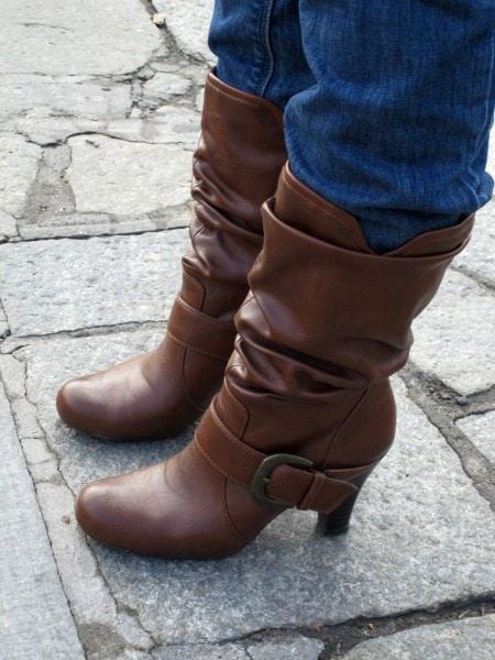 Briannas detailed boots