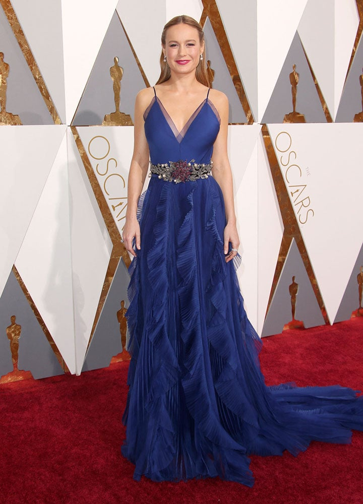 Brie Larson at the 2016 Oscars