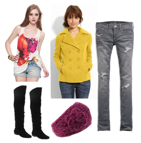 Bright outfit what color should you wear