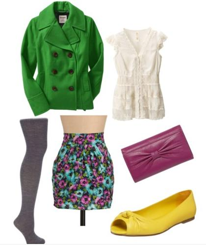 Bright Colors Sample Outfit