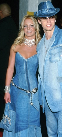 Britney Spears and Justin Timberlake Matching Denim