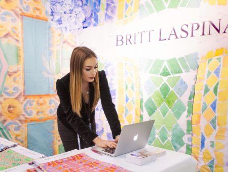 Britt Laspina in her office