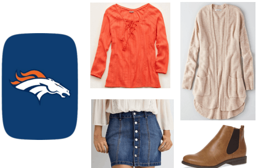 Broncos Superbowl Party Outfit