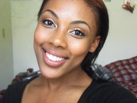 Bronzed Babe Makeup Look