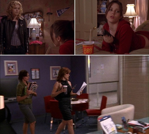 Brooke Davis' bedroom and office from One Tree Hill
