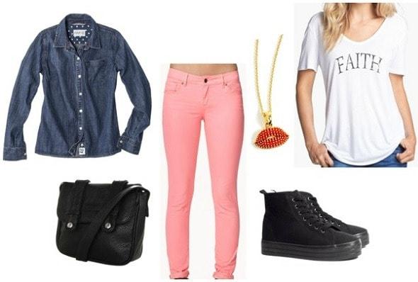 Brooklyn girls keep on truckin outfit