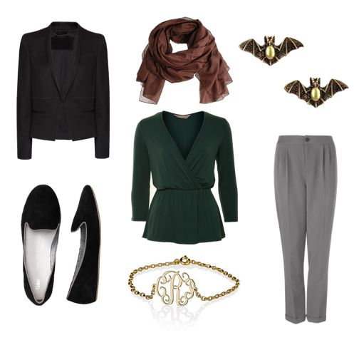 Bruce Wayne outfit