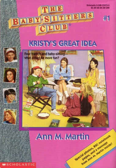 Kristy's Great Idea cover