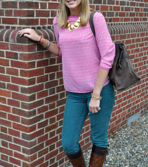 Student street fashion at Bucknell University