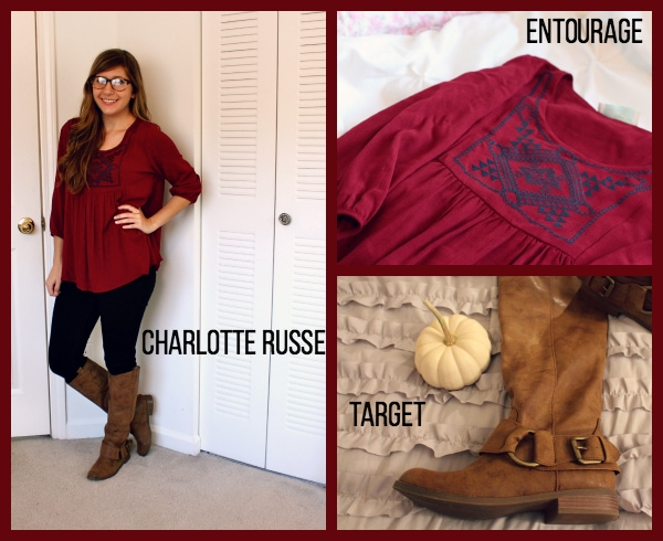Burgundy-Wide-Tunic-Black-Jeans-Tall-Tan-Boots