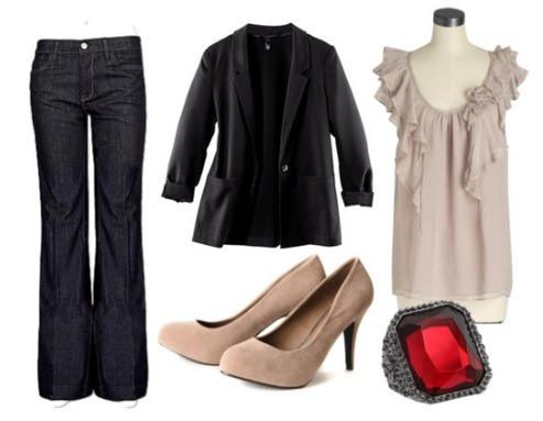 smart casual internship outfit