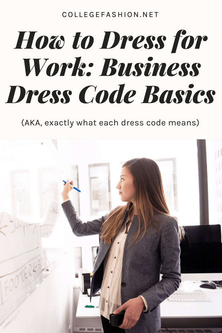 How to dress professionally: A guide to different business dress codes and exactly what they mean, plus where to shop for business professional, business casual, and campus casual clothing