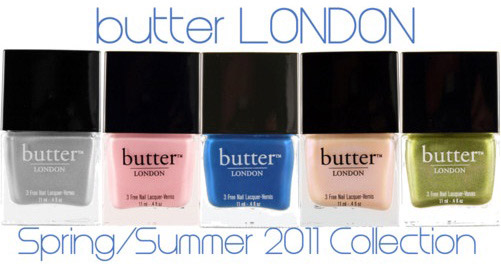 Butter London Spring Summer 2011 nail polish collection