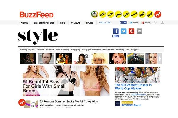 Buzzfeed style 2