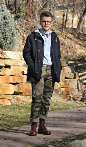 College street style at BYU