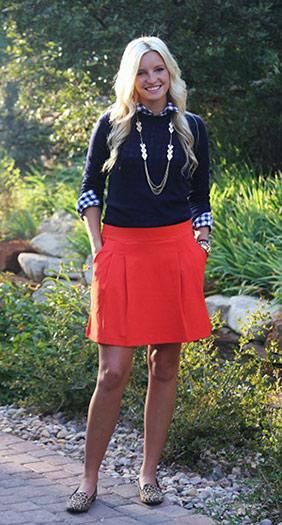 Brigham Young University student fashion