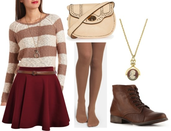Fab Find: Charlotte Russe Striped Sweater - Vintage-Inspired Chic