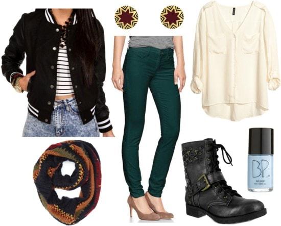 Fab Find: Windsor Varsity Jacket - Collegiate Cool