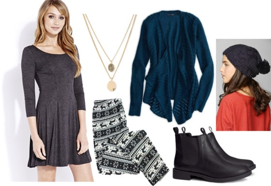 Fab Find: Forever 21 Fit & Flare Dress - Fashionable for Finals
