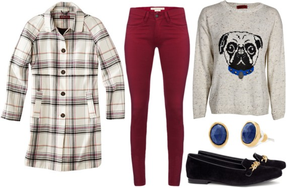 Fab Find: Target Plaid Coat - Fun & Fashionable