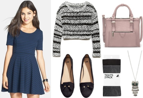 Fab Find: Nordstrom Striped Skater Dress - Double Up