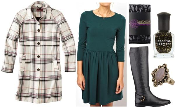 Fab Find: Target Plaid Coat - Dressy Casual
