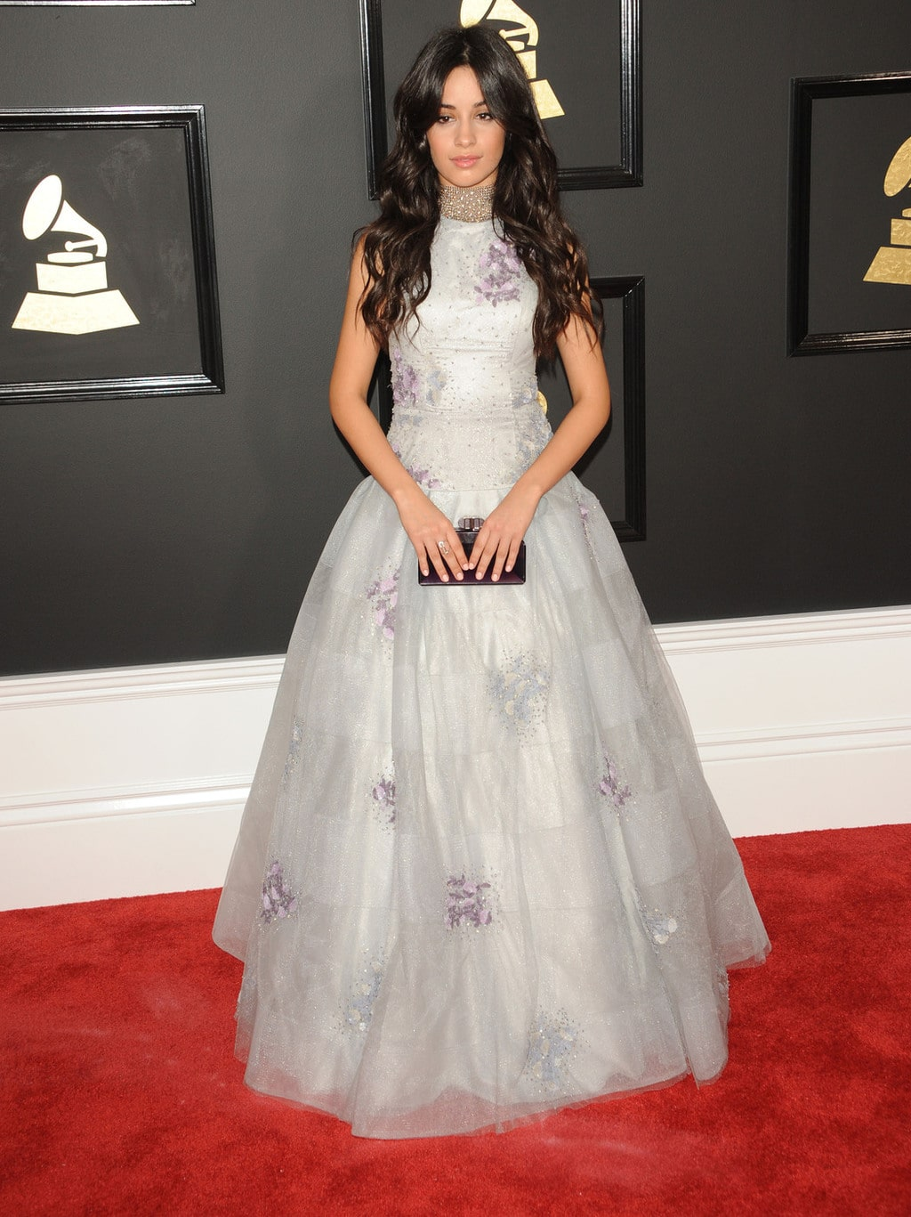 Camila Cabello in Miri Couture at the 2017 Grammy Awards