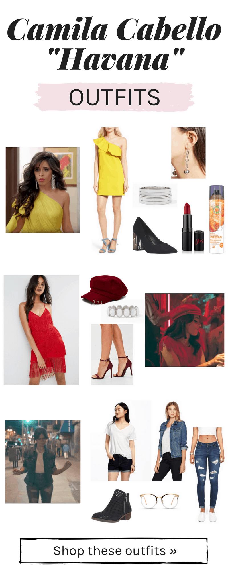 Camila Cabello Havana outfits