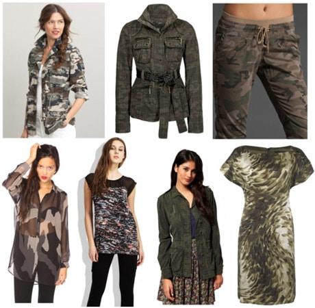 Fall 2011 Fashion Trend: Camo Print