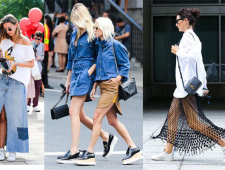 Street-wear during NYFW 2015