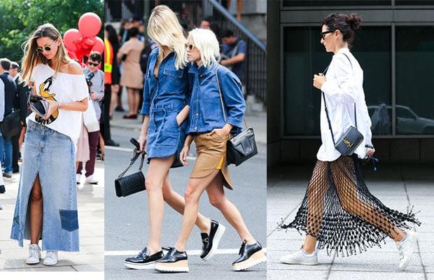 Street-wear during NYFW 2015