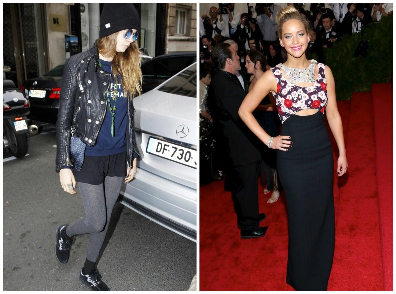 Cara vs Jennifer Lawrence