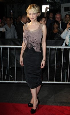 Carey mulligan attends the premiere of