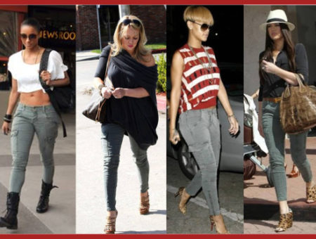 celebrities in cargo pants