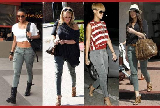 celebrities in cargo pants