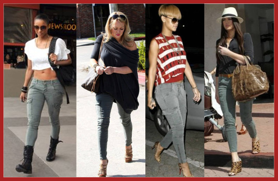 News: Fashion Celebs Crazy for Cargos photo