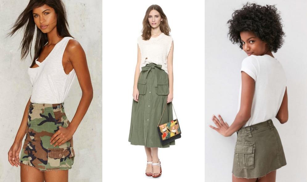 Cargo-Skirt-Trend