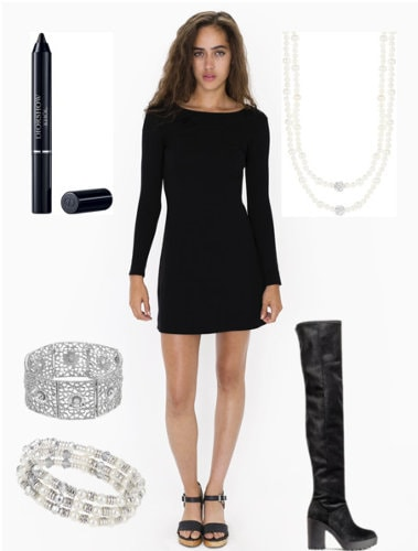 Carine Roitfeld Going Out Outfit Set