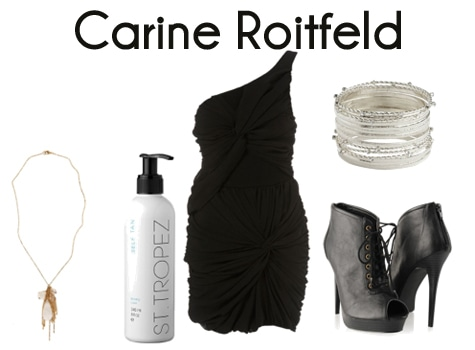 Carine Roitfeld outfit