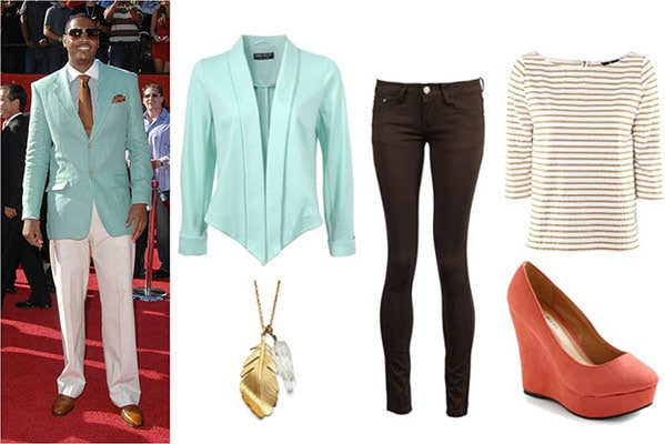 Fashion inspired by Carmelo Anthony's style